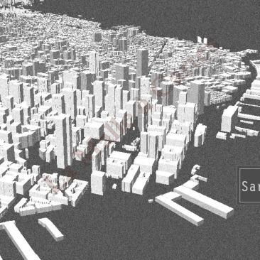San Francisco en 3d