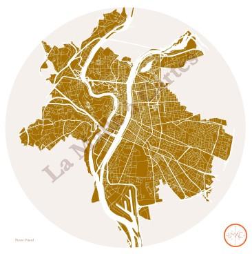 Lyon, ses routes et ses fleuves
