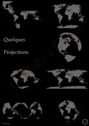 Quelques projections du Monde