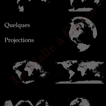 Quelques projections du Monde