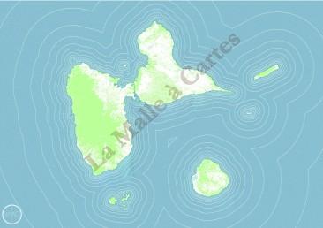 Guadeloupe flottante